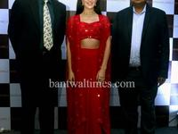 Isabelle Kaif during a press conference to announce as a brand ambassador of Bandhan Jewels