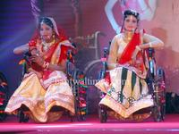 Physically challenged models participate the Talent and Fashion show